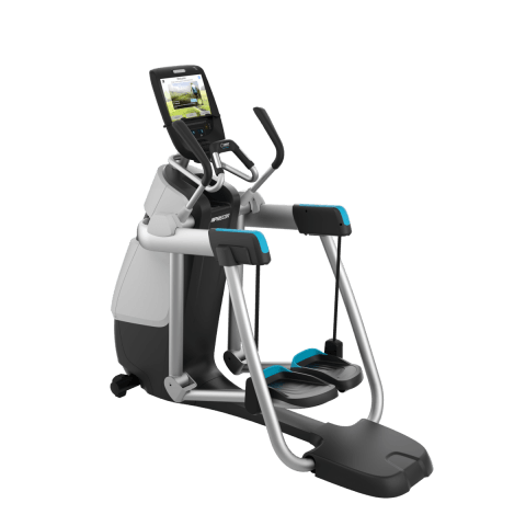 Precor AMT® 885 with Open Stride | Adaptive Motion Trainer P82 Console