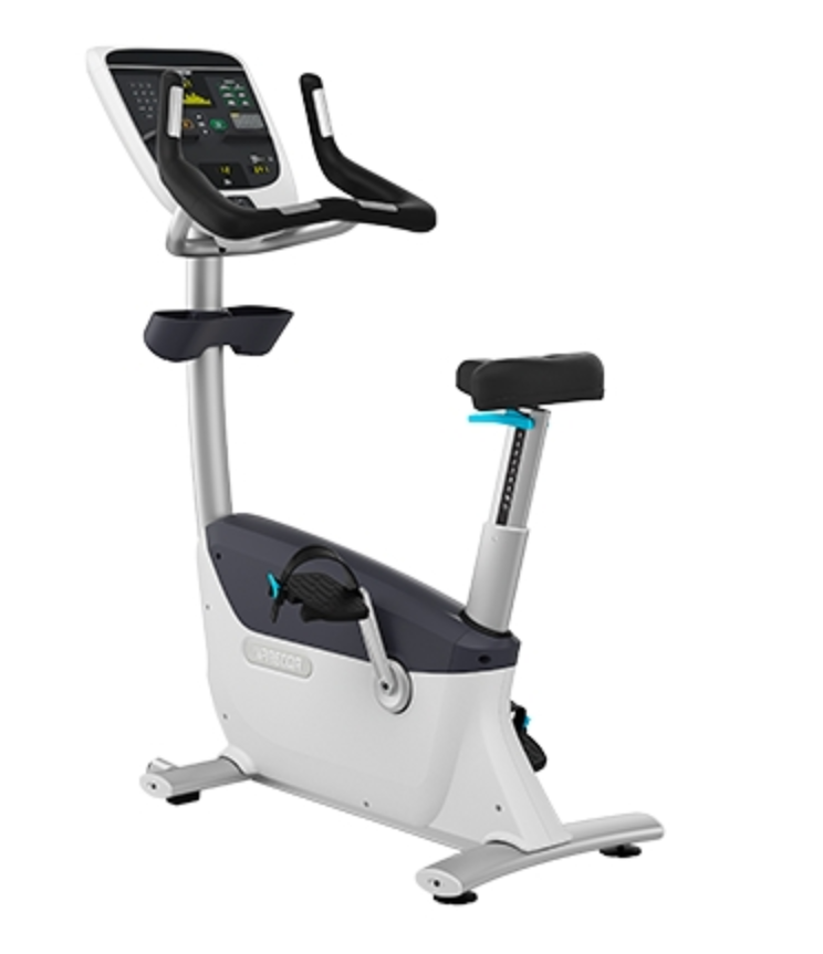 Precor UBK 815 Upright Bike w/P10 Console