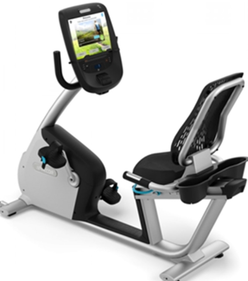 Precor RBK 885 Recumbent Bike w/ P82 Console