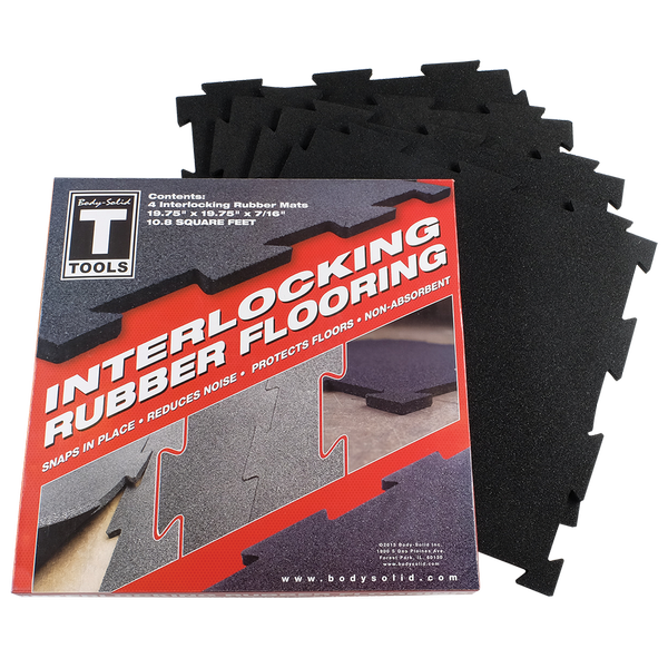 Interlocking Rubber Flooring