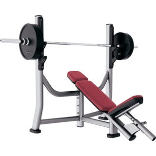 Life Fitness Signature Series Olympic Incline Bench