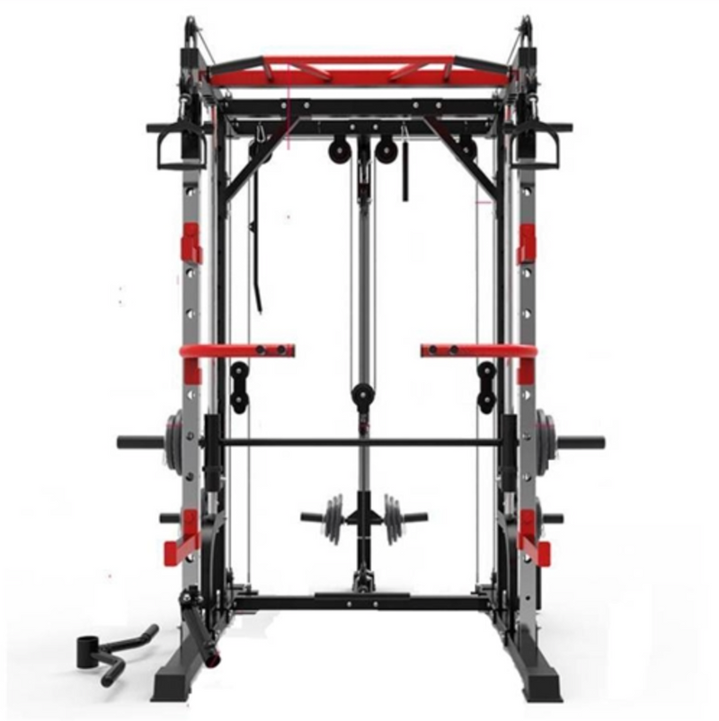 Smith Machine Elite with Dual Pulley System & Assembly