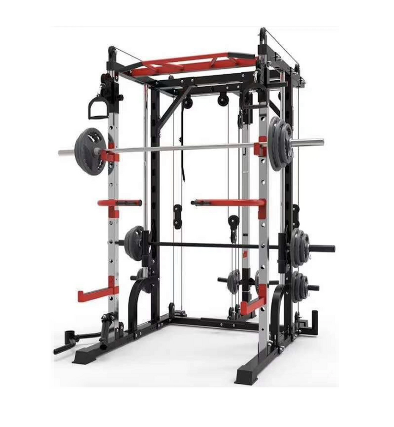 Smith Machine Elite with Dual Pulley System Home Gym Package - New 2021