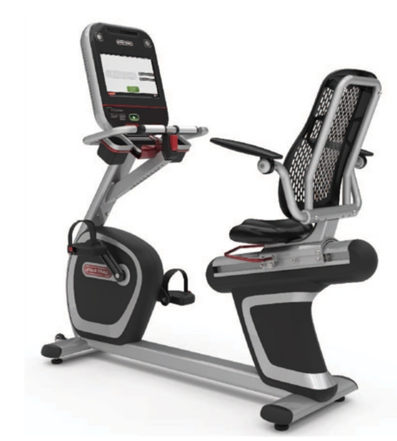 "Star Trac 8-Series Recumbent Bike w/ 15"" HD Touch Screen"