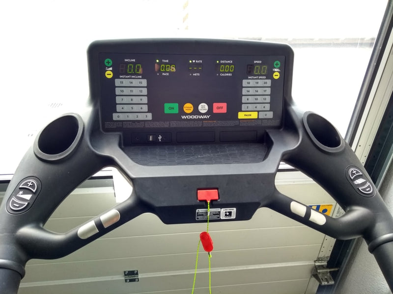 Woodway 4Front Treadmill Quick Set Display (2019 Model)