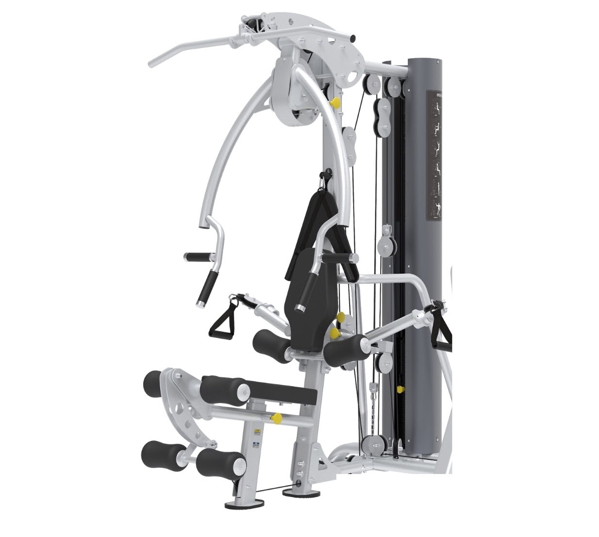 XPT Multi-Station Gym System with Adjustable Cable Cross Arms