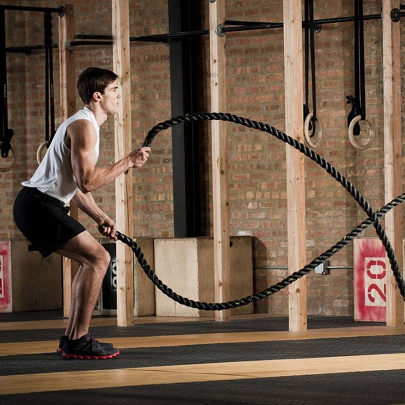 Heavy Duty Battle Ropes - CrossFit Strength Training & Conditioning