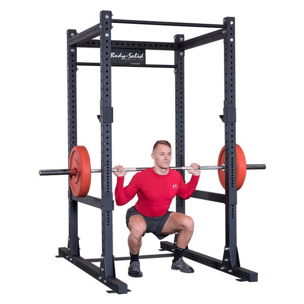 New 2020 Body-Solid Full Commercial Power Rack (SPR1000)