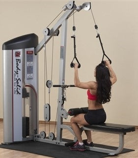 New 2020 Body-Solid Series II Lat Pulldown and Seated Row