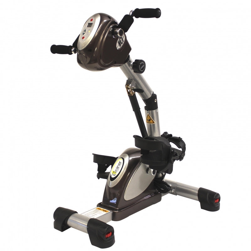 New 2021 HCI Fitness E-Trainer Upper and Lower Body Passive Pedal Exerciser
