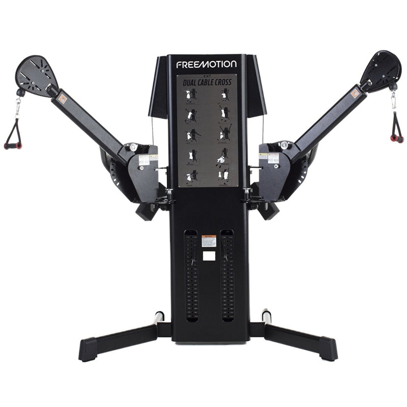 New 2020 Freemotion Ext Dual Cable Cross Black Gym Experts