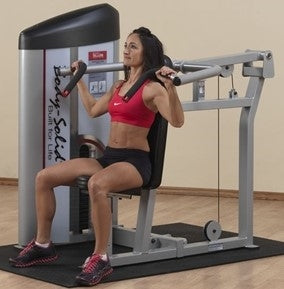 New 2021 Body-Solid Series II Shoulder Press