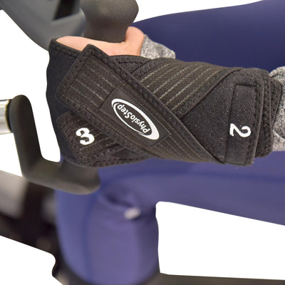 HCI Fitness Stabilization Kit - hand grips, leg stabilizers, seat belt