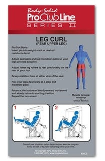 New 2020 Body-Solid Series II Seated Leg Curl