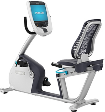 Precor RBK 885 Recumbent Bike w/ P80 Console