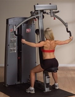 New 2020 Body-Solid Pro Dual Pec Fly & Rear Delt Machine