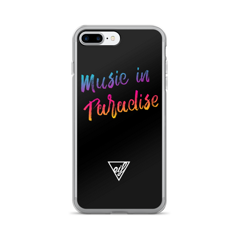 Music in Paradise iPhone Case