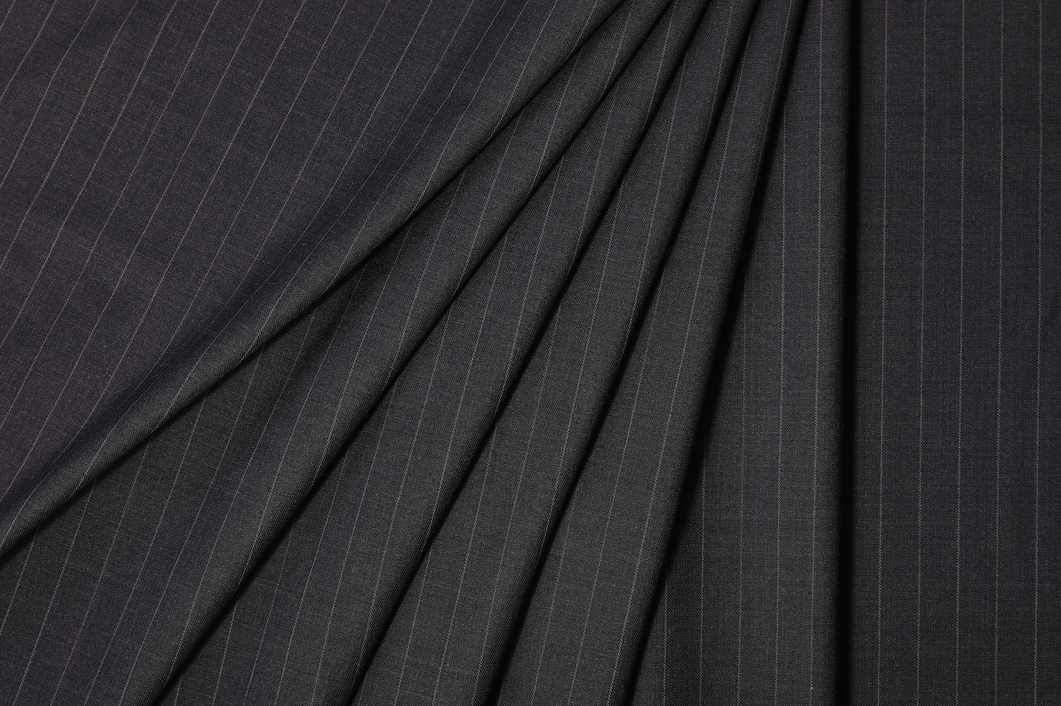 Milano Charcoal Chalkstripe Suit
