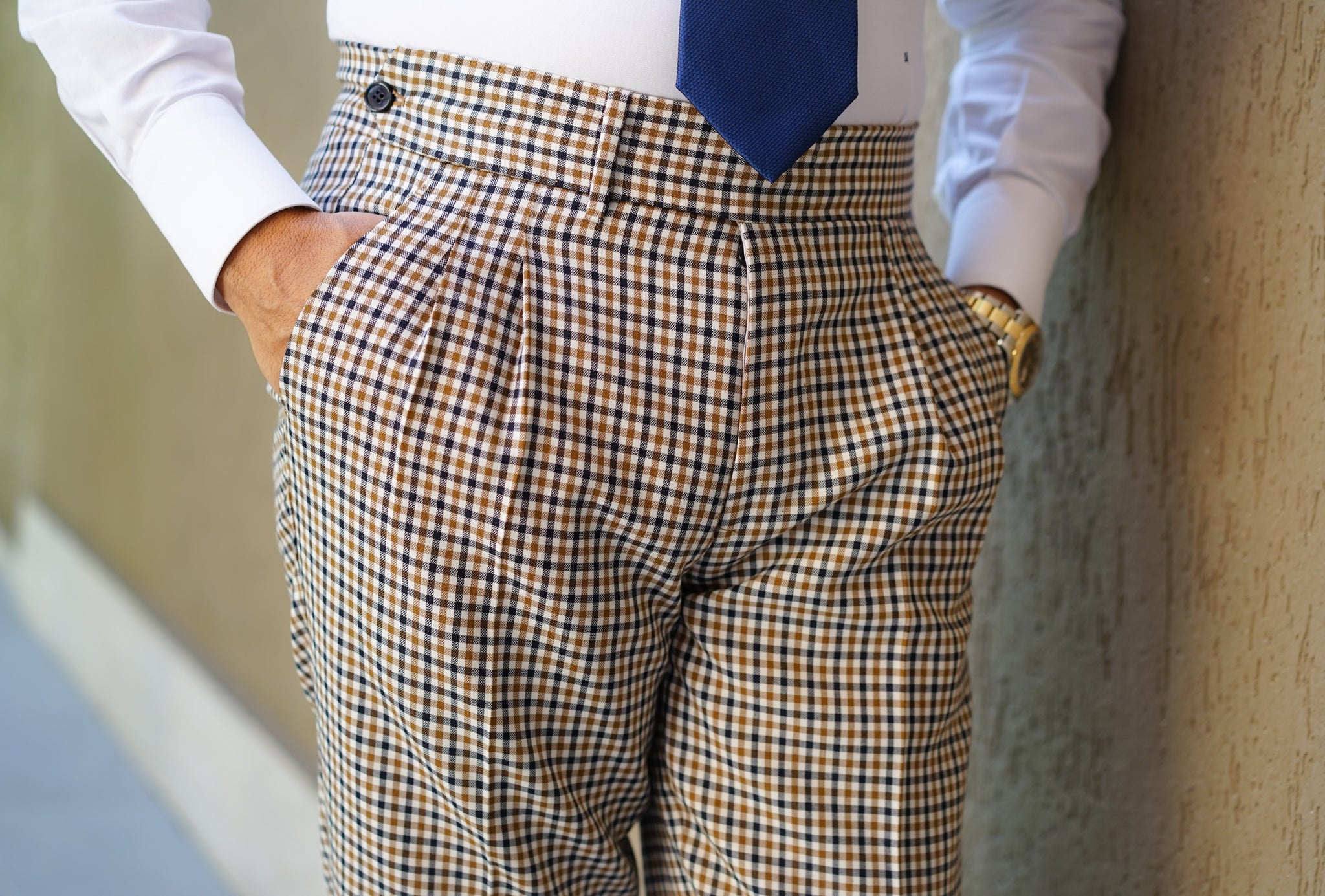 Royal Check Trouser