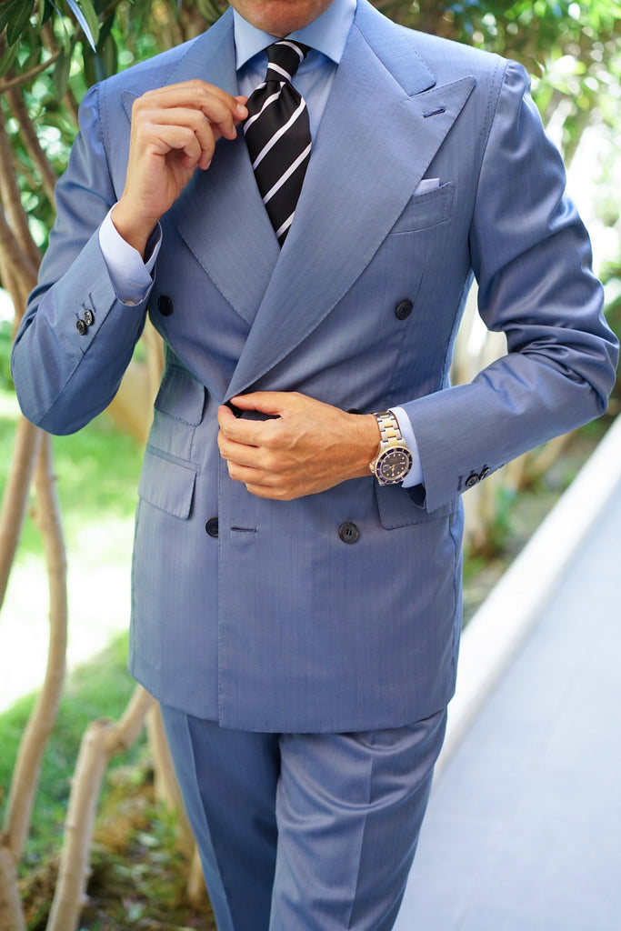 Portofino Light Blue Suit