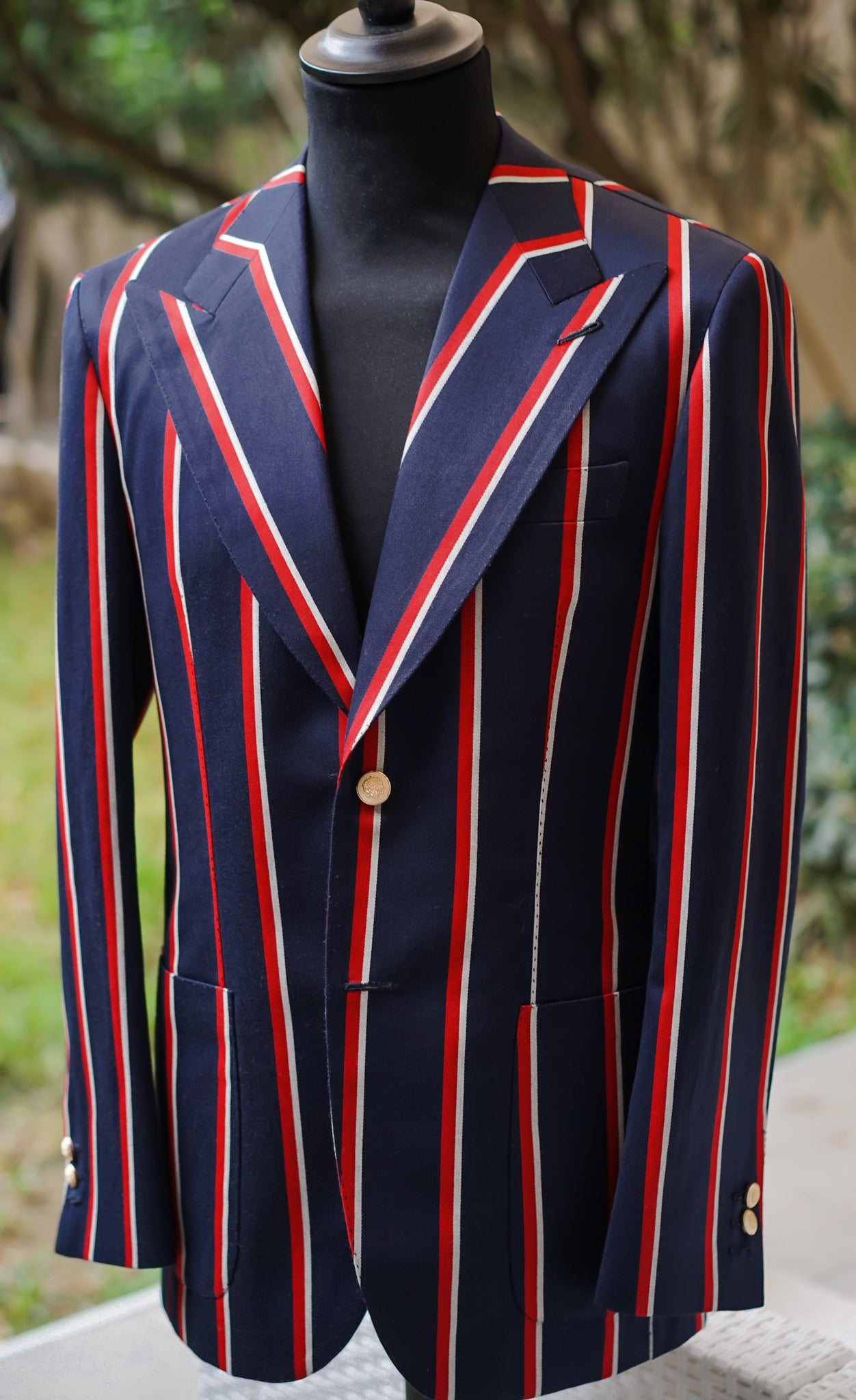 Capri Stripe Jacket Luxury Line