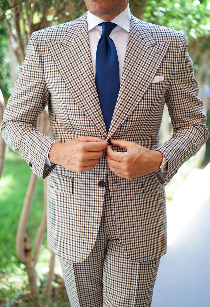 Royal Check Suit