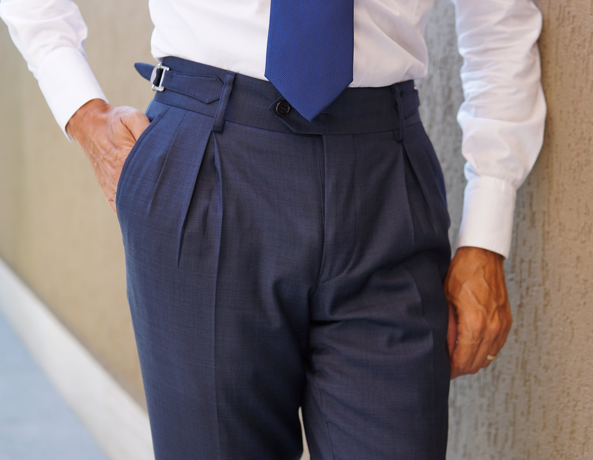 Sorrento Navy Blue Suit