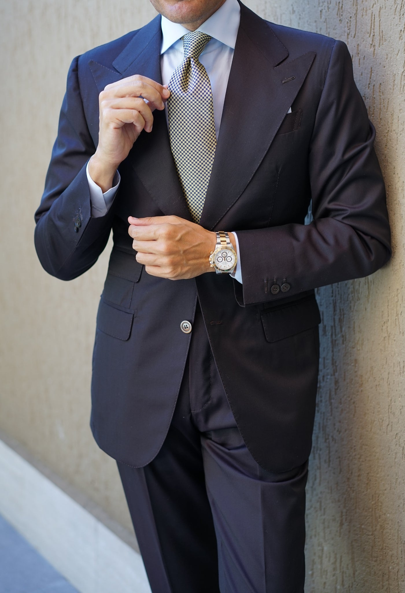 Venice Dark Brown Suit