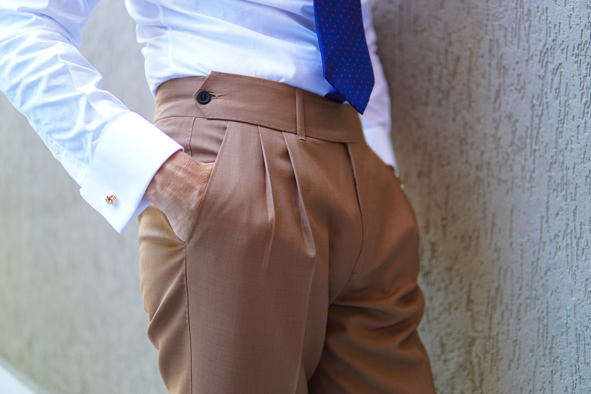 Windsor Light Brown Trouser