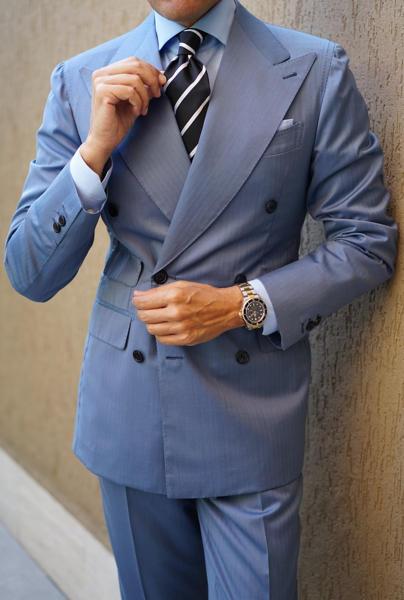 Portofino Light Blue Suit Premium Line