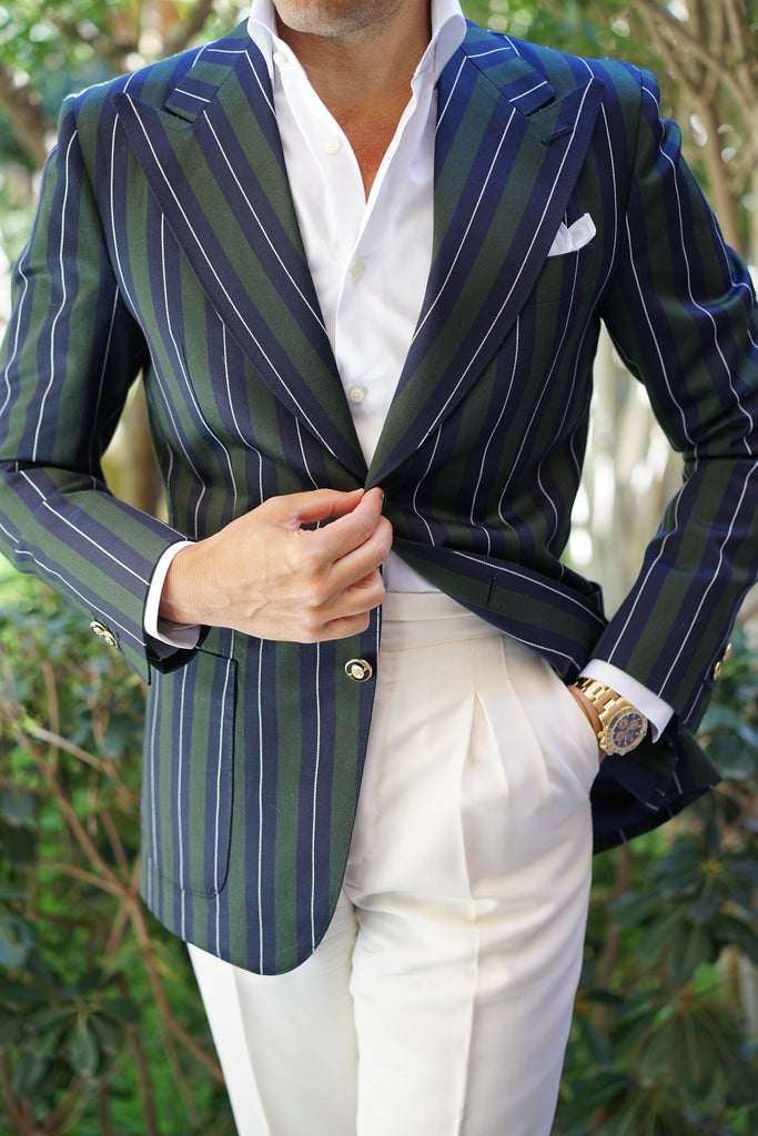 Monte Carlo Stripe Jacket Luxury Line