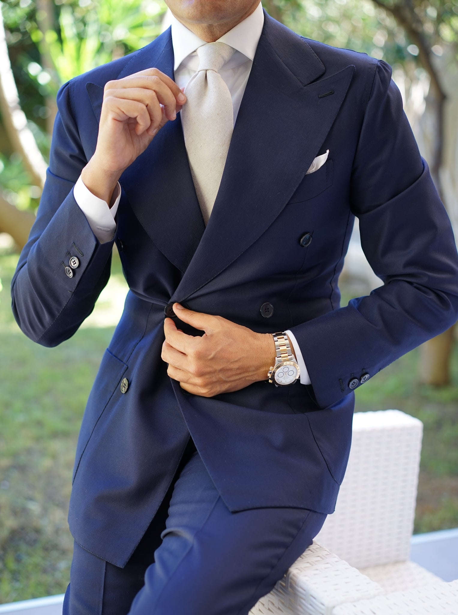Turin Navy Suit