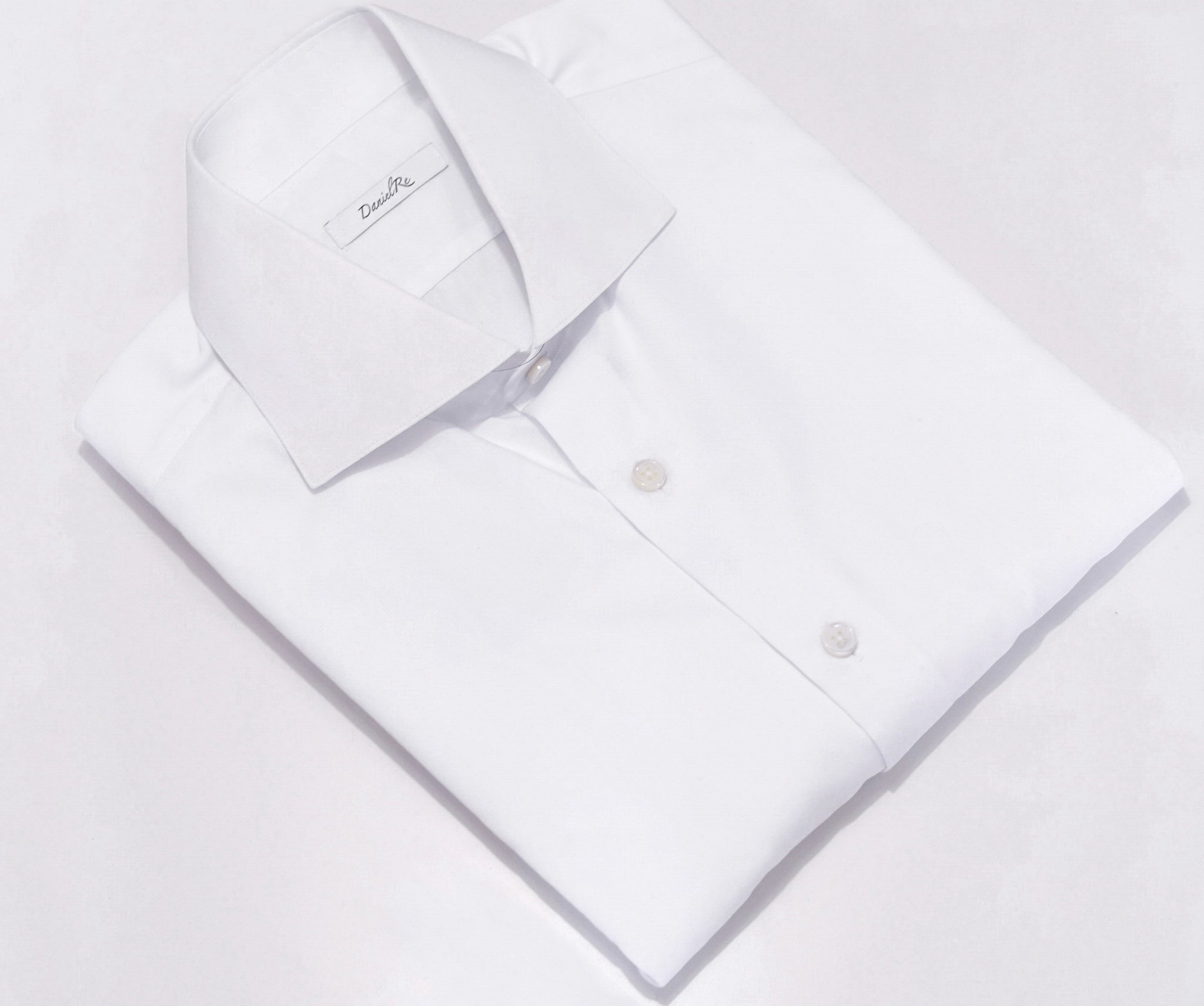 Danielre Timeless White Shirt