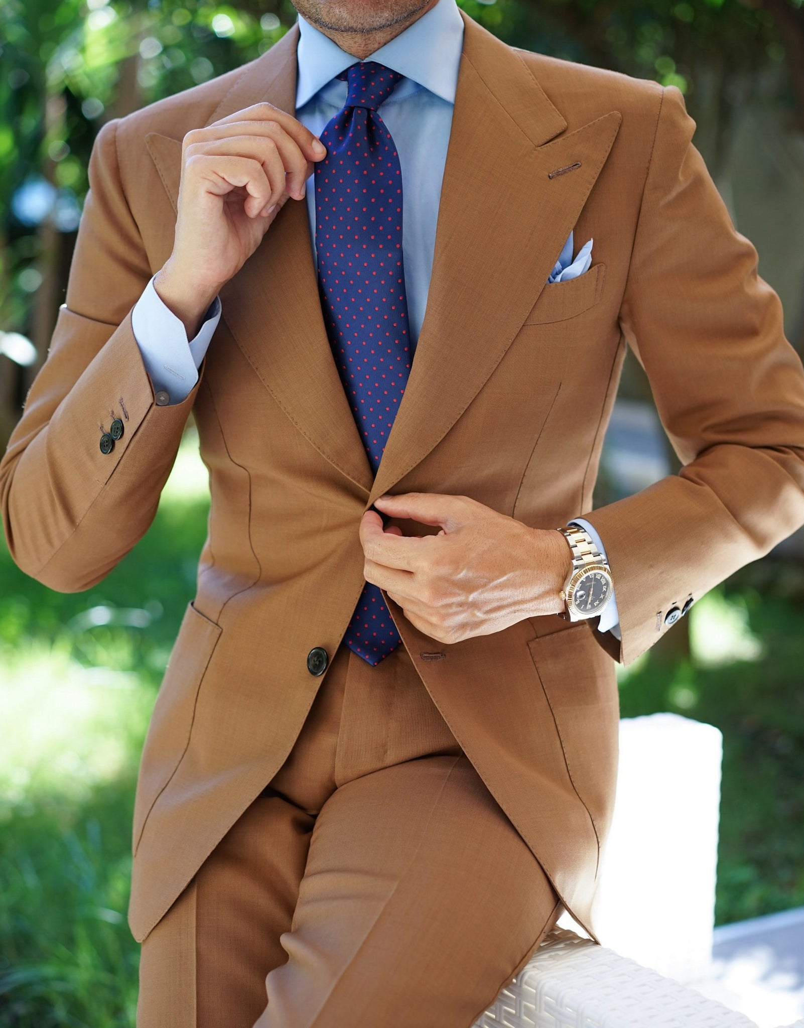 Windsor Light Brown Suit