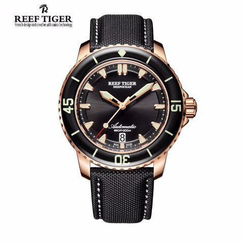 Reef Tiger Mens Dive Watch 20bar   water resistance