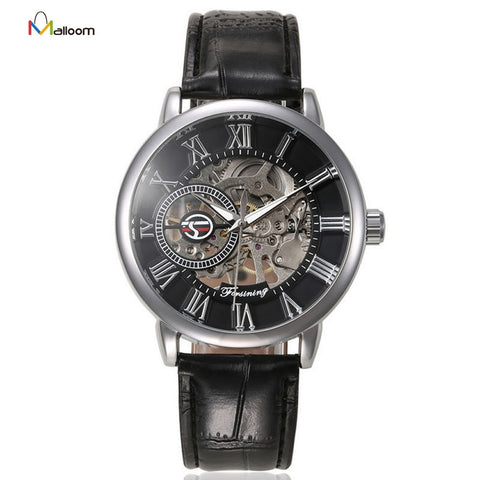 Men's Luxury Skeleton Automatic Mechanical Watch