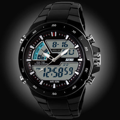 50M Waterproof Mens Sports Watches