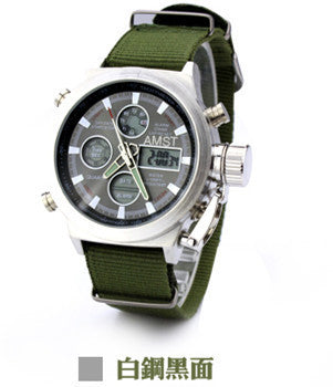 Sport Military Watch  water resistant  5bar