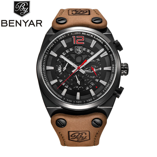 Luxury Waterproof Army Sports Watch With Premium Detailing | Okeebays & Co.