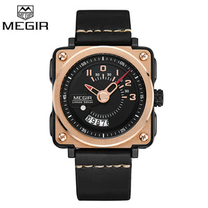 Megir Mens Watches Man Luxury