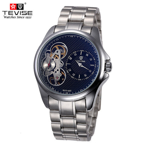 Skeleton Watch Men  water resistance 3bar