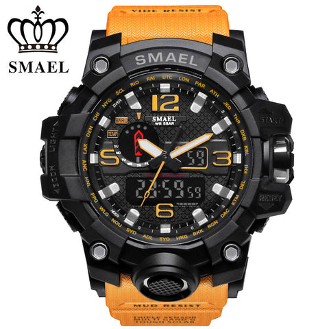 Dual Display Luxury Men's Watch