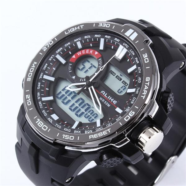 Waterproof Sports Military Watches Shock Men's