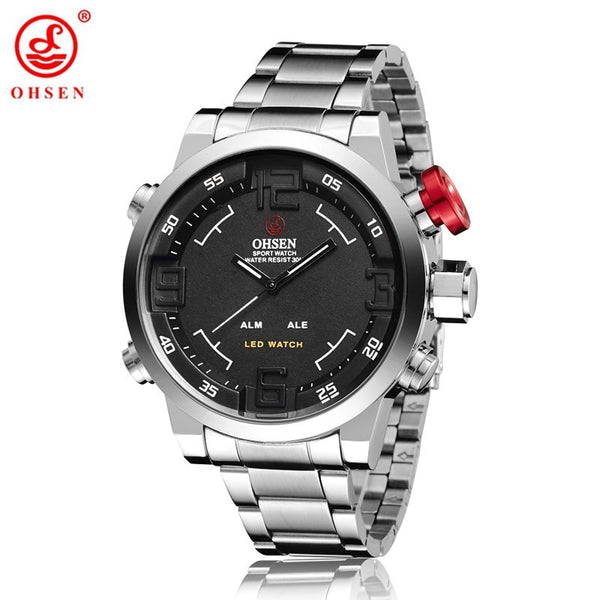 OHSEN  Sports Wristwatches 30M Water Resistant