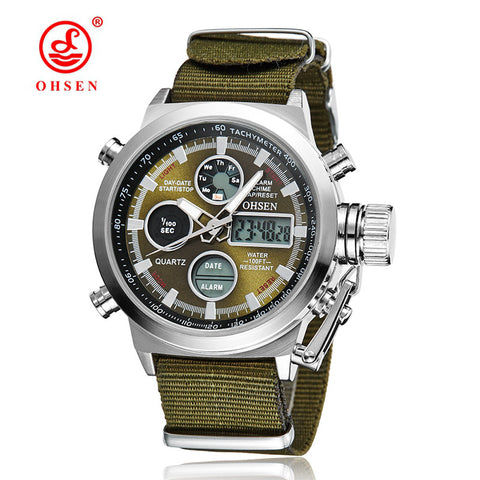 OHSEN Military Sport Watch