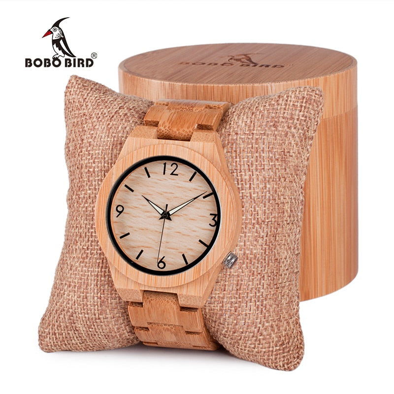 BOBO BIRD Mens  Watch Quartz  in Gift Box