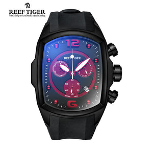 Reef Tiger  Chronograph Sport water resistance 5bar