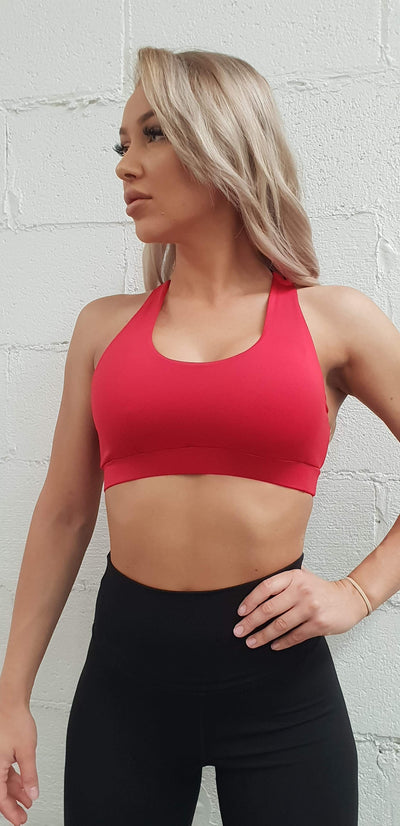"""CORE VALUES"" SPORTS BRA"