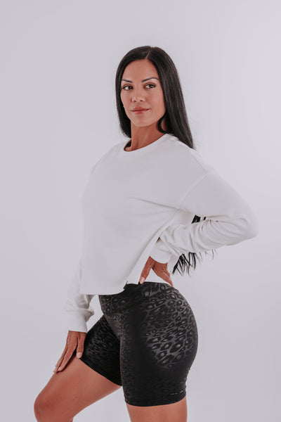 SLOUCHED CROP JUMPER
