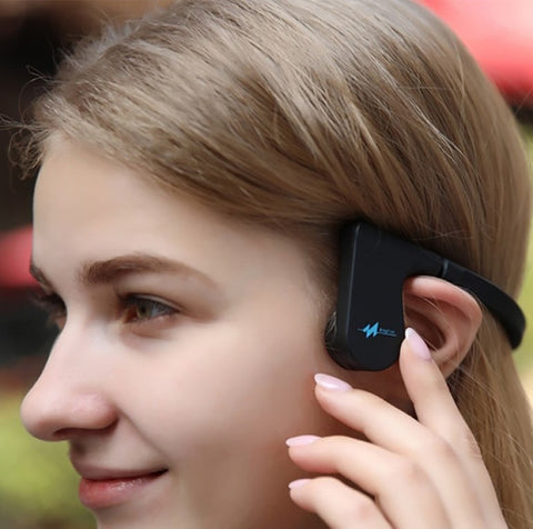 Bone Conduction Hearing Aid with Bluetooth